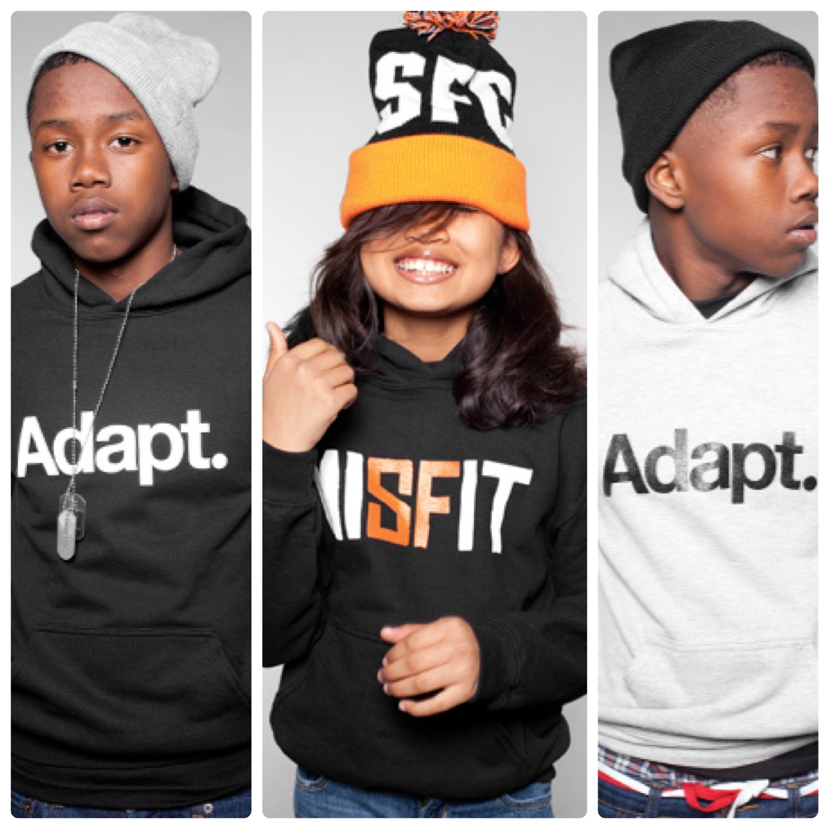 Adapt. Adapt Advancers Clothing. | iRok Fashion