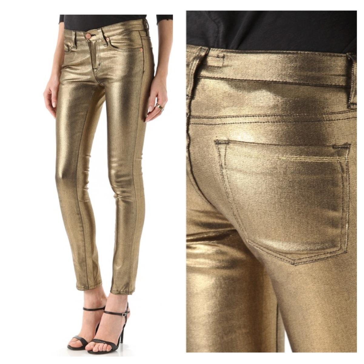 Washborn :: Skinny Coated Jeans | iRok Fashion
