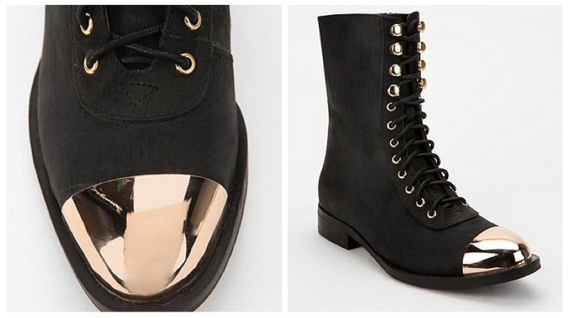 Metal Boot Tips : jeffrey campbell zorro metal tip lace up boots irok fashion ~ Hamham.info Haus und Dekorationen