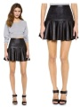 Robert Rodriguez :: Cane Weave Leather Skirt